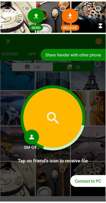 Xender for BlackBerry