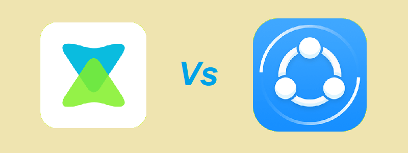 Xender vs SHAREit